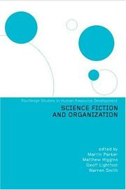 Cover of: Science Fiction and Organization