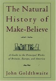 Cover of: The natural history of make-believe