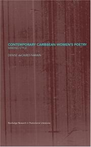 Cover of: Contemporary Caribbean women