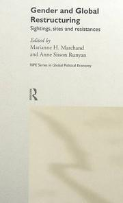 Cover of: Gender and Global Restructuring