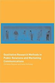 Cover of: Qualitative Research Methods in Public Relations and Marketing Communications | C. Daymon
