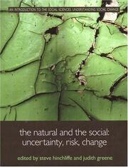 Cover of: The Natural and the Social (An Introduction to the Social Sciences)