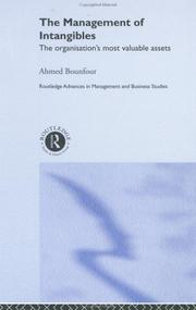 Cover of: The Management of Intangibles | A. Bounfour