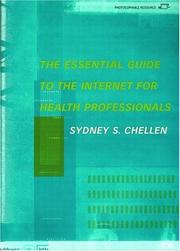 Cover of: The Essential Guide to the Internet for Health Professionals