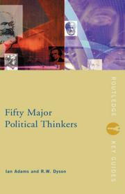 Cover of: Fifty major political thinkers | Adams, Ian