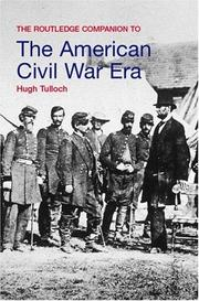 Cover of: The Routledge companion to the American Civil War era
