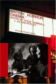 Cover of: British horror cinema |