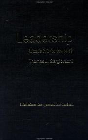 Cover of: Leadership (What