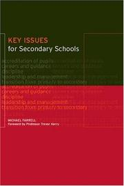 Cover of: Key Issues for Secondary Schools | Michael Farrell
