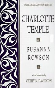 Cover of: Charlotte Temple by Rowson Mrs.