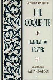 Cover of: The coquette