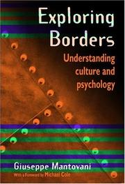 Cover of: Exploring Borders