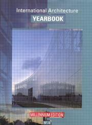 Cover of: International Architecture Yearbook, Millennium (International Architecture Yea)
