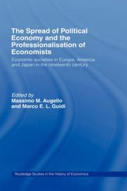 Cover of: Societies of Political Economy and Association of Economists