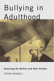 Cover of: Bullying in adulthood