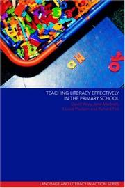 Cover of: Teaching literacy effectively in the primary school | Wray, David