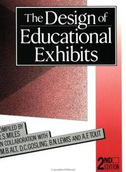 Cover of: The Design of Educational Exhibits