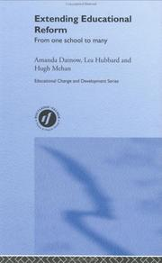 Cover of: Extending Educational Reform (Educational Change and Development Series)