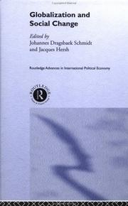 Cover of: Globalization and Social Change (Routledge Research Advances Inipe)