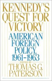 Cover of: Kennedy's quest for victory