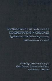 Cover of: Development of Movement Co-ordination in Children