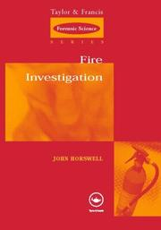 Cover of: Fire Investigation (Forensic Science)