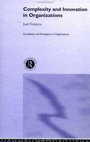 Cover of: Complexity & Innovation in Organizations