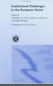 Cover of: Institutional Challenges in the European Union (Routledge Advances in Europeanpolitics)