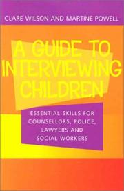 Cover of: Guide to Interviewing Children | Claire Wilson