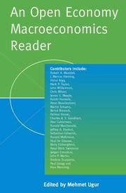 Cover of: An Open Economy Macroeconomics Reader | Mehmet Ugur