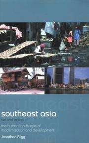 Cover of: Southeast Asia | Jonathan Rigg