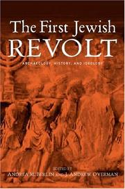 Cover of: The First Jewish Revolt