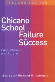 Cover of: Chicano School Failure and Success