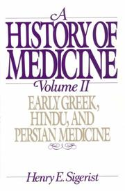 Cover of: A History of Medicine: Volume 2