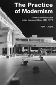 Cover of: Practice of Modernism