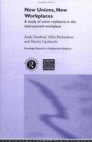 Cover of: New Unions, New Workplaces