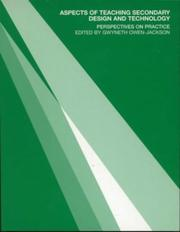 Cover of: Aspects of Teaching Secondary Design and Technology