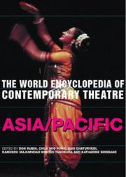 Cover of: World Encyclopedia of Contemporary Theatre by Don Rubin