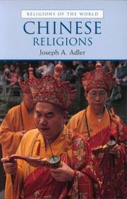 Cover of: Chinese Religions (Religions of the World)