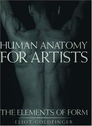 Cover of: Human anatomy for artists