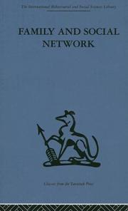 Family and social network by Elizabeth Bott