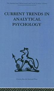Cover of: Current Trends in Analytical Psychology