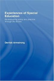 Cover of: Experiences of Special Education