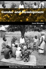 Cover of: Gender and development