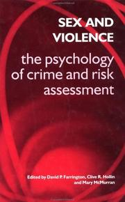 Cover of: Sex and Violence