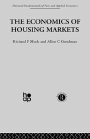Cover of: Economics of Housing Markets