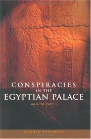 Cover of: Conspiracies in the Egyptian palace