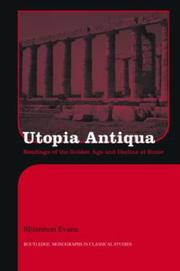 Cover of: UTOPIA ANTIQUA