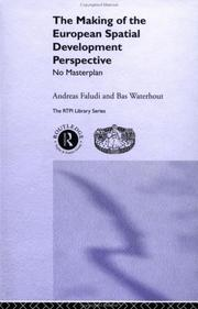 Cover of: Making the European Spatial Development Perspective (Rtpi Library Series) | Andreas Faludi