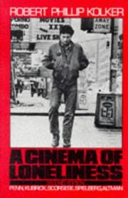 Cover of: A cinema of loneliness